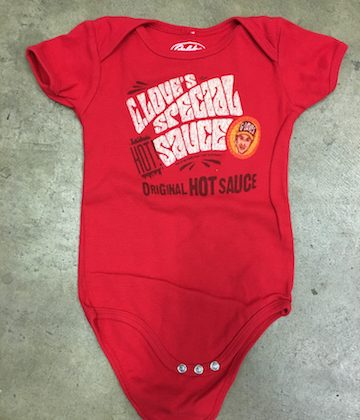g love hot sauce baby onesie